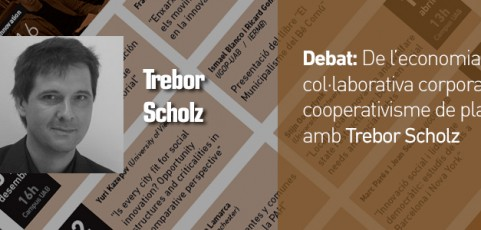 De l'economia col·laborativa corporativa al cooperativisme de plataforma amb Trebor Scholz