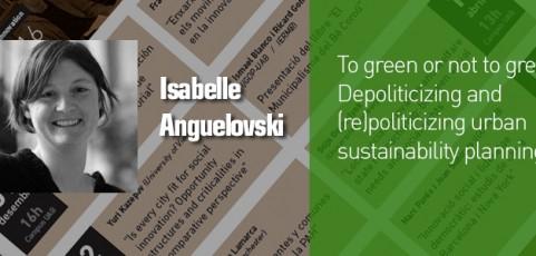 Seminari Isabelle Anguelovski – 1 de març a les 12h