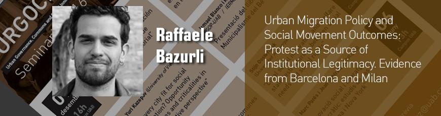 Seminari Raffaele Bazurli – 30 maig 13h