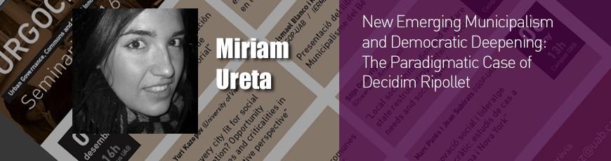 Seminari Miriam Ureta – 19 juny 13h