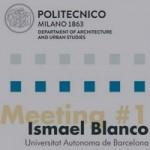 El Dr. Ismael Blanco parla sobre nou municipalisme al Polimi
