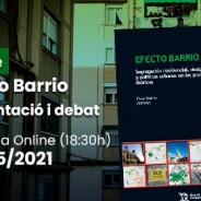 Presentació llibre Efecto Barrio